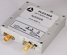 Stabilized phase locked oscillator (PLO) series PLOxKx